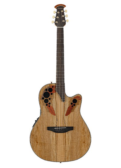 CE44P-SM - Celebrity Elite Exotic - Natural On Exotic Spalted Maple